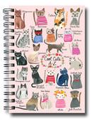 Deffter Lovely Serisi 20x28/Spiralli Sert Kapak Cool Cats 64198-7