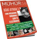 İki Aylık Şiir ve Edebiyat Dergisi Mühür Sayı: 58