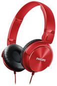 Philips SHL3060RD Kulaküstü kulaklık / Kırmızı