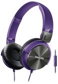 Philips SHL3165PP Kulaküstü Kulaklık / Mik / Mor