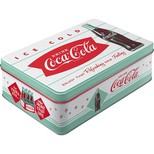Nostalgic Art Coca-Cola Dinner Yatay Teneke Saklama Kutusu 30726