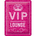 Nostalgic Art VIP Pink Lounge Duvar Panosu (15x20 cm) 26171