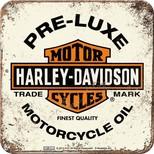Nostalgic Art Harley Davidson PRE-LUXE Tekli Bardak Altlığı 9x9 cm 46102