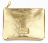 Leather & Paper Altın Mini Çanta