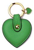 Leather & Paper Yeşil Kalp Anahtarlık