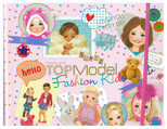 Top Model Kids Fashion Boyama Kitabı Dk07981