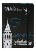 Tosbaa İstanbul'un Bisikleti Kuşe Defter 15x21