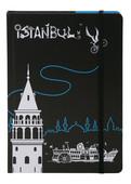 Tosbaa İstanbul'un Bisikleti Kuşe Defter 10x14 Çizgili