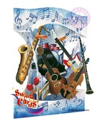 Santoro Gorjuss Gc-Swing Cards Music 3D Kart Sc088