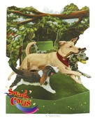 Santoro Gorjuss Gc-Swing Cards Dogs In The Park 3D Kart Sc135