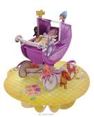 Santoro Gorjuss Pirouettes Baby In A Pram 3D Kart Ps018