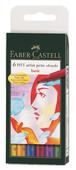 Faber-Castell Pitt Çizim Kalemi Ana Renkler 5188167103