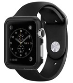 Spigen Apple Watch Kılıf, Thin Fit (38mm) Black SGP11487
