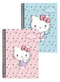 Hello Kitty Spiralli Defter A4 Çizgili