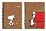 Snoopy Kraft Defter A4 Kareli