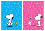 Snoopy A4 PP Kapaklı Defter Kareli