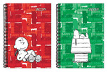 Snoopy A4 PP Kapak Spiralli Defterler Çizgili