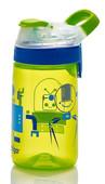 Contigo Gizmo Sip Kids Water Bottle Chartreuse Robots - Robotlar 1000-0473
