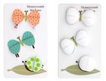 Coccomell Handmake Sticker Kelebek Salyangoz 9340101