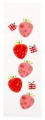 Coccomell Handmake Sticker Çilek Kelebek 9341801
