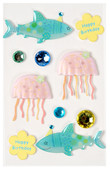 Coccomell Handmake Sticker Taşlı Okyanus 9344406