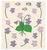 Coccomell Handmake Sticker Çiçek Lila Buket 9379507