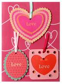 Coccomell Handmake Sticker Kalp Love 9385008