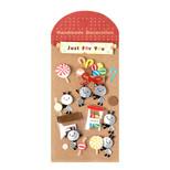 Coccomell Handmake Sticker Arı Ve Lolipop 9408311