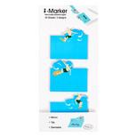 Coccomell i-Marker Sticky Note Sörf Kayak 9300604