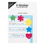 Coccomell İ-Marker Sticky Note Kalp Yıldız 9306203
