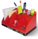 Mas Desk Organizer - Usb Hub - C.Reader-Kirmizi 6602