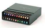 Faber-Castell Pitt Çizim Kalemi Fırça Uç Studio Box 24 Renk 5188167147