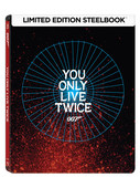 007 James Bond - You Only Live Twice Steelbook - İnsan İki Kere Yaşar (Seri 5)