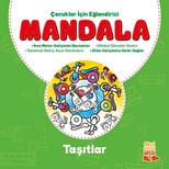 Çocuklar İçin Eğlendirici Mandala - Taşıtlar