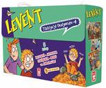 Levent Türkiyeyi Geziyorum 4 Set  - 5 Kitap Takım