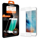 Spigen iPhone 6S Cam Ekran Koruyucu, Full Ekran Kaplama White SGP11590