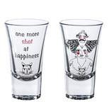 Tosbaa Shot Bardağı 2'Li Kedi Kafası Std