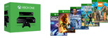 XBOX ONE KINECT // DANCE CENTRAL // KS RIVALS // ZOO TYCOON // MAX // LOCOCYCLE AİLE PAKETİ