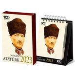 Atatürk 365 Gün 2018 Masa Takvimi