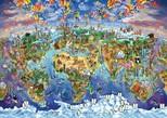 Art Puzzle Büyüleyici Dünya 2000 Parça