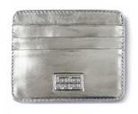 Leather & Paper Gümüş Deri Kredi Kartlık