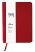 Leather & Paper 12x17 Kırmızı Flotter Defter