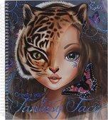 Top Model Fantasy Yüz Boyama Kitabı 8050