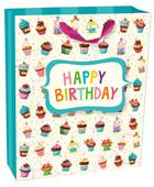 Legami Gift Bag - Large - Cupcake