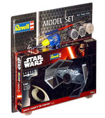 Revell-Star Wars Darth Vader Tie Fighter Maket Seti