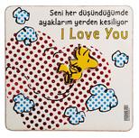 Peanuts Magnet Seni Her Düşündüğümde 17