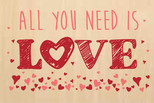 All You Need İs Love