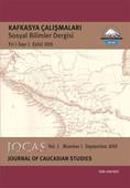 Sosyal Bilimler Dergisi Sayı 1 - Kafkasya Çalışmaları