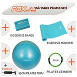 Fox Fitness Yağ Yakıcı Pilates Seti AKSFOXSET003