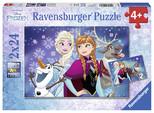 Ravensburger 2X24PPuzzle Wd-Frozen 090747
